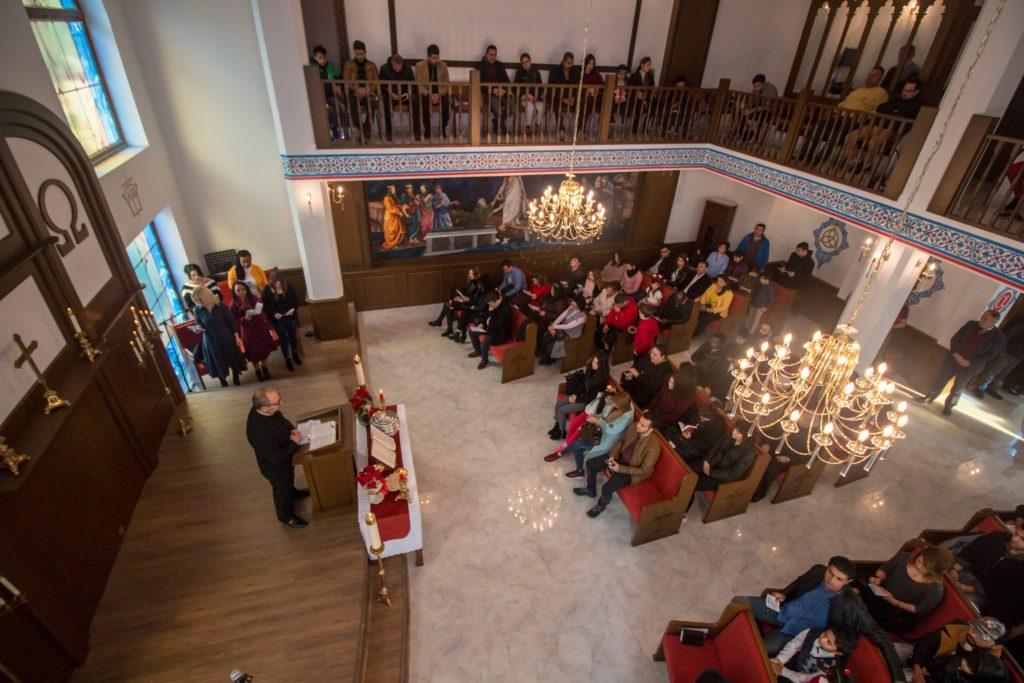 Samsun Kilisesi ibadet