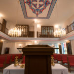 Samsun Kilisesi İbadethane Kürsüden Bakış
